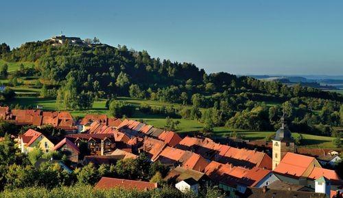 Aussicht auf Waldeck und Burg ©André Wirsing